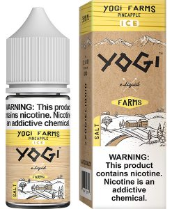 Yogi Farms Salt Ice Pineapple 30ml