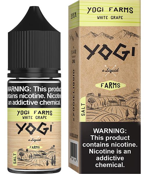 Yogi Farms Salt White Grape 30ml