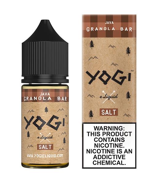 Yogi Salt Java Granola Bar 30ml