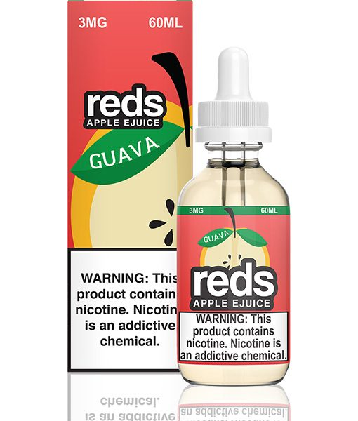 7 Daze Reds Apple Guava 60ml