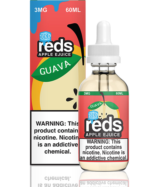 7 Daze Reds Apple Guava Iced 60ml
