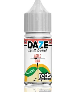 7 Daze Salt Series Reds Apple Guava 30ml