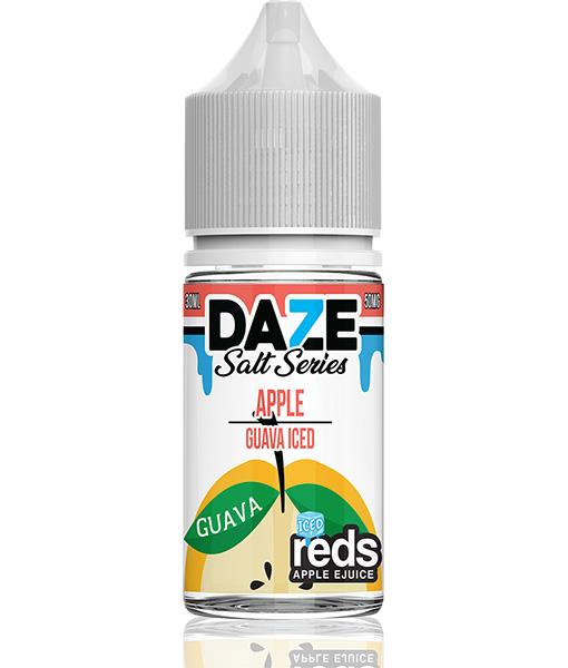 7 Daze Salt Series Reds Apple Guava Iced 30ml