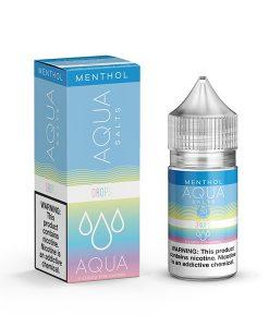 Aqua Menthol Salts Drops 30ml