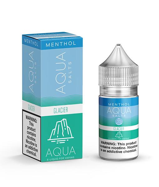Aqua Menthol Salts Glacier 30ml
