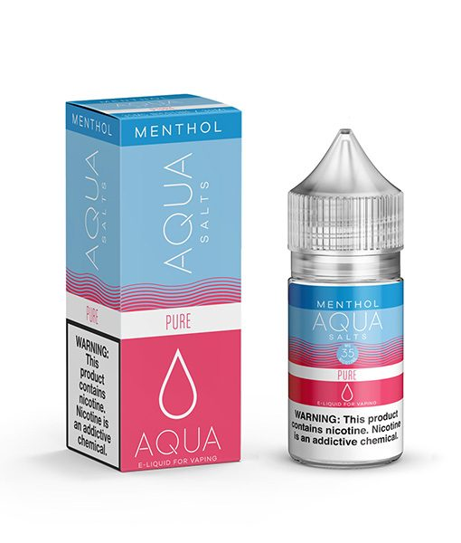 Aqua Menthol Salts Pure 30ml