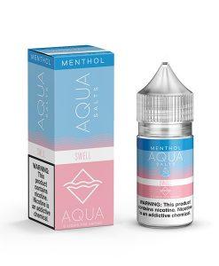 Aqua Menthol Salts Swell 30ml
