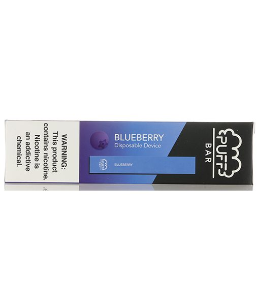 Puff Bar Disposable Pod Device Blueberry